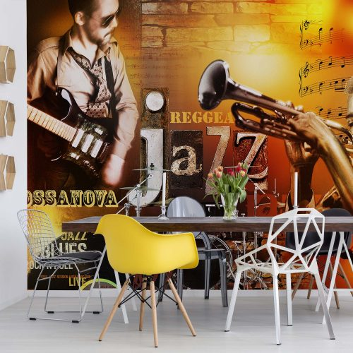 Jazz Music Photo Wallpaper Mural