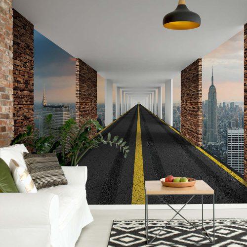 Highway To New York City Photo Wallpaper Mural